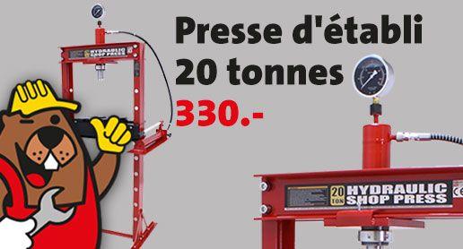 20 tonnen werkstattpresse