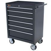 Servante Mobile à  6 tiroirs gris - George Tools