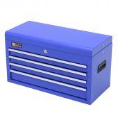 Coffre à outils 4 tiroirs bleue - George Tools