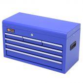 Coffre à outils 6 tiroirs bleue - George Tools