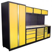 Mobilier d'atelier Halifax Nextgen jaune  - Kraftmeister