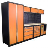 Mobilier d'atelier Halifax Nextgen Orange - Kraftmeister