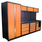Mobilier d'atelier Halifax Inox  Nextgen Orange - Kraftmeister