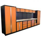 Mobiler d'atelier Montreal Nextgen Orange - Kraftmeister