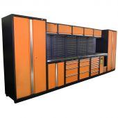 Mobilier d'atelier Montreal  Inox Nextgen Orange - Kraftmeister