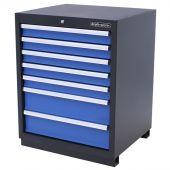 Armoire à 7 tiroirs Premium Bleue - Kraftmeister