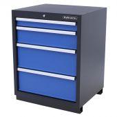 Armoire à 4 tiroirs Premium Bleue – Kraftmeister