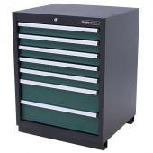 Armoire à outils 7 tiroirs Premium verte - Kraftmeister
