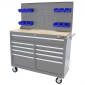 Etabli d'atelier mobile 46 inch gris - George Tools