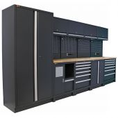 Mobilier d'atelier Hamburg anthracite - George Tools