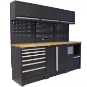 Mobilier d'atelier Dortmund anthracite - George Tools