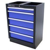 Armoire à outils 5 tiroirs Standard bleu - Kraftmeister