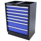 Armoire à outils 7 tiroirs Standard bleu - Kraftmeister