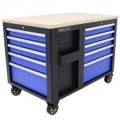 Servante d'atelier XL Contreplaqué Standard bleu - Kraftmeister