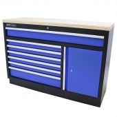 Armoire à outils XL Contreplaqué Standard bleu - Kraftmeister