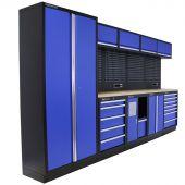 Mobilier d'atelier New Jersey Contreplaqué bleu - Kraftmeister