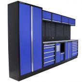 Mobilier d'atelier New Jersey Inox bleu - Kraftmeister