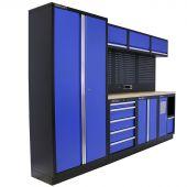 Mobilier d'atelier Washington Contreplaqué bleu - Kraftmeister