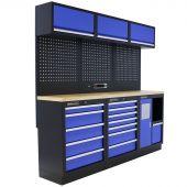 Mobilier d'atelier Maryland Contreplaqué bleu - Kraftmeister