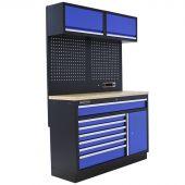 Mobilier d'atelier Minnesota Contreplaqué bleu - Kraftmeister