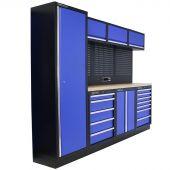 Mobilier d'atelier Delaware Contreplaqué bleu - Kraftmeister