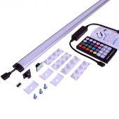 Lampe LED de couleur pour armoire murale 60 cm
