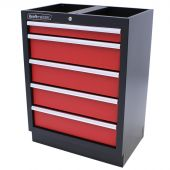 Armoire de rangement Redline à 5 tiroirs – Kraftmeister