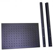 Panneau à outils demi-haute Premium / Pro noir - Kraftmeister
