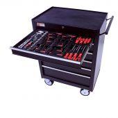 Servante mobile d'atelier rempli de 3 tiroirs  80 pcs – George Tools