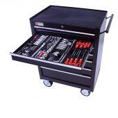 Servante mobile  d'atelier 26, rempli de  4 tiroirs  209 pcs – George Tools