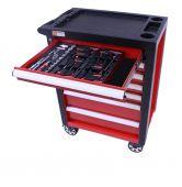 Servante mobile d'atelier remplie  Redline  80pcs - George Tools