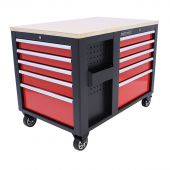 Servante d'atelier XL Multiplex Standard rouge - Kraftmeister