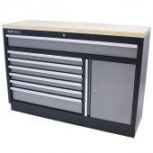 Kraftmeister armoire de rangement  7 tiroirs  et plan de travail en  Multiplex