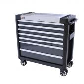 Servante mobile d'atelier remplie Greyline 38 Premium 154pcs -  George Tools