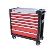 Servante mobile d'atelier  remplie Redline 38 Premium 154pcs - George Tools