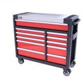 Servante  mobile d atelier rempli Redline 44 Premium 154 pcs - George Tools